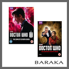 DOCTOR Dr WHO Complete the 7th & 8th Series Season 7 & 8 DVD R4