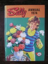 Lovely Vintage/Retro Collectable Sally Girls Annual 1974 Unclipped VGC For Age