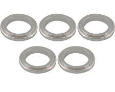 5 Silver 17mm x 5mm Alufelgen Spurverbreiterungen Prokart Kadett UK KART STORE