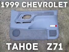 1999 Chevrolet Tahoe OEM Gray Front Passenger Side Door Panel 95 96 97 98 99 Z71