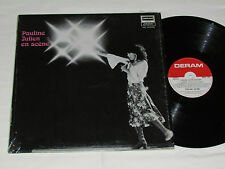 PAULINE JULIEN En Scene LP 1975 Deram Records Canada French Vinyl Album VG/VG+