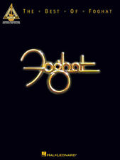 Foghat The Best Of Guitar Recorded Versions Tab Book NEW!