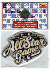 2002 ALL STAR GAME MILWAUKEE BREWERS OFFICIAL MLB BASEBALL AWAY JERSEY PATCH
