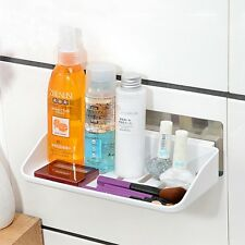 Plastic Storage Holder Suction Cup Wall Shelves Removable 22.5*12.9*4.9cm Hot