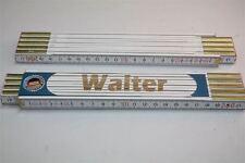 Zollstock mit  NAMEN      WALTER    Lasergravur 2 Meter Handwerkerqualität