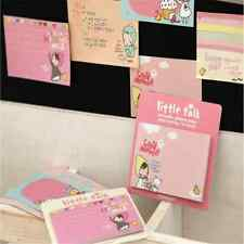 1x Lovely Girl Sticky Notes Memo Pad Bookmark Index Post it Flag Tab Sticker O1