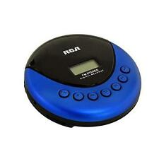 NEW RCA Portable Walkman CD Player/Radio Sport Stereo System Blue with Earphones