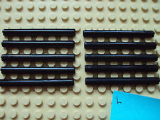 Lego Technic/Mindstoms NXT ~ Lot Of 10 Black Cross Axles #6 6 Studs Long Rod