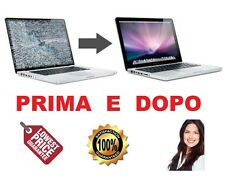 """Apple Macbook Pro 17"""" MATT HI-RES ASSISTENZA SOSTITUZIONE PANNELLO MONITOR LCD"""