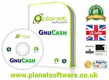GNUCash Financial Accounting Accounts Double-Entry Bookkeeping System Software