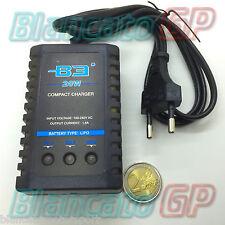 CARICABATTERIE B3 AC PRO 20W 1.6A PER LIPO 2S e 3S BILANCIATORE 220V softair
