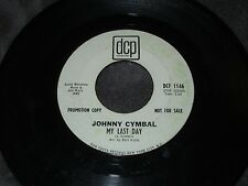Johnny Cymbal, Summertime's Here At Last / My Last Day   PROMO
