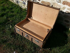Vintage steamer trunk valise old travel trunk cabin trunk ~ table de café