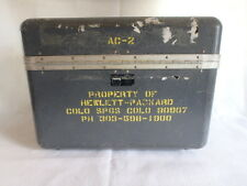 VINTAGE HP HEWLETT PACKARD Div 08 Company Carrying Case pre-1988