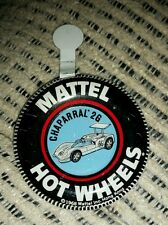 Hotwheels Redline Original 1968 CHAPARRAL  2G button badge