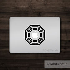 Dharma - Mac Apple Logo Laptop Vinyl Decal Sticker Macbook Hindu Peace Om Life
