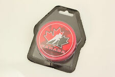 CANADA 2010-11 TEAM CANADA Shadow Logo style Red PUCK - #CL NHL