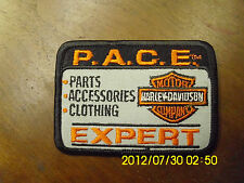 Harley-Davidson, P.A.C.E Expert Sew On Patch.#