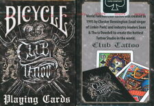 BICYCLE CLUB TATTOO PLAYING CARDS!!!