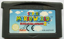 GAME BOY Advance - GBA - SUPER MARIO WORLD - SUPER MARIO ADVANCE 2 - nur MODUL