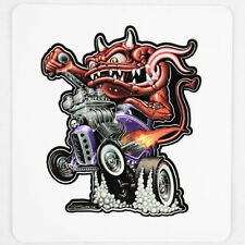 Zombie Hot Rod Wear Monster Coupe V8 Custom Muscle Car Aufkleber Sticker Decal