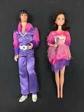 """DONNY & MARIE OSMOND 12"""" pair of dolls in box (1976) Mattel made in Hong Kong"""