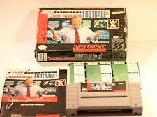 SUPER NINTENDO JOHN MADDEN FOOTBALL 93  SNS-MF-USA USA VERSION GAME ONLY