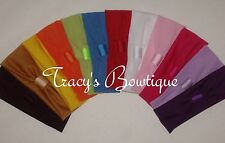 """12 Stretch 2"""" Girls Interchangeable Headbands for Hair Clips Flowers or Bows*"""