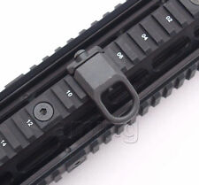 Rail Mount Sling Adapter Low Profile Attachment Point Picatinny Weaver Black
