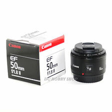 New Canon EF 50mm f/1.8 II lens canon 50 mm 50 1.8 f1.8