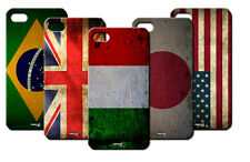 IPM CUSTODIA COVER CASE BANDIERA VINTAGE ITALIA AMERICA PER iPHONE 4 S 4S