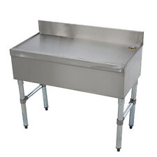 "Advance Tabco CRD-12 12"" Underbar Drainboard Workboard"