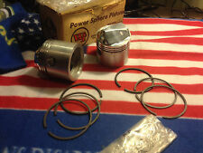GENUINE TRIUMPH HIGH COMPRESSION PISTON & RINGS SET 10.5 C. R. WEBCO TRIUMPH 650