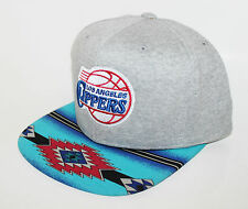 Los Angeles Clippers Native Brim Mitchell & Ness SnapBack Gray Sweater