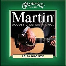 Martin M170 acoustic guitare strings 80/20 bronze extra light gauge .010 - .047