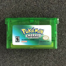 NEW Pokemon EmeRald GBA For Nintendo Game Boy Advance DS Shiny Game Card Gifts