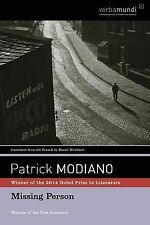 Missing Person by Patrick Modiano (2005, Paperback)