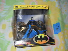 J6_10 DC Comics Figure Lot KENNER LIMITED 100th EDITION BATMAN 5""