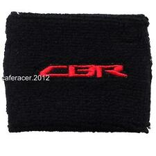 HONDA CBR BRAKE RESERVOIR SOCKS FLUID TANK CUP COVER BLACK 125 600RR 1000RR BK/R