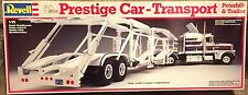 Revell Prestige Car Transport Peterbilt Truck-Trailer Model Kit 1:25 scale - NIB