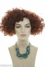 Fox Red  Red Short Curly Wigs
