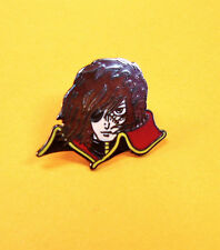 CAPTAIN HARLOCK FACE  PIN   ARCADIA VINTAGE ANIME