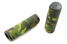 ARMY CAMOUFLAGE BIKE HANDLEBAR GRIPS SUIT ADULT &KIDDIES BIKES INCL BMX, MTB ETC