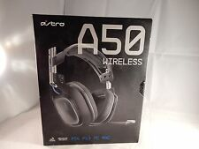 Astro A50 Wireless Gaming Headset Dolby PS4 PS3 PC GEN 2 (COMPLETE IN BOX) #M754