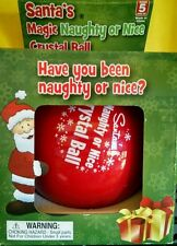 Imaginary Kids Santa's Magic Naughty Or Nice Crystal Ball Fortune Tellin Magic 8