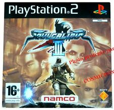 SOUL CALIBUR III 3 - jeu DEMO PRO combat soulcalibur console PS2 PlayStation 2