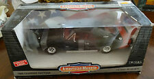 Brand New Ertl 1969 Dodge Charger Daytona Black 1/18 Scale American Muscle #7389