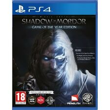 Middle-Earth Shadow of Mordor Game Of The Year (GOTY) PS4 Game Brand New