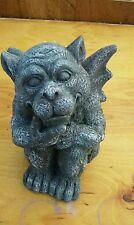 Gargoyle  mold for plaster or concrete  latex only mold ready to ship.