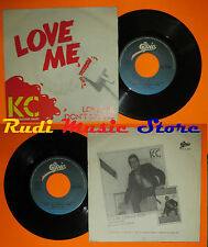 LP 45 7'' KC & THE SUNSHINE BAND Love me Don't say no 1981 italy EPIC cd mc dvd*